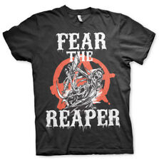 Official Licensed Sons Of Anarchy - Fear The Reaper Men's T-Shirt S-XXL (Black)