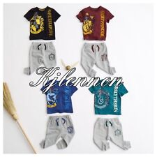 HARRY POTTER JOGGERS SETS Gryffindor / Ravenclaw/ Slytherin/ Hufflepuff 0-24 Mts