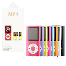 Reproductor MP4 Video Music Radio con Micro SD 16 GB Lector MP3 MP4