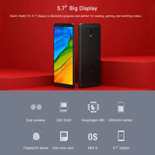 "XIAOMI REDMI 5 OCTA CORE 3GB 32GB 4G Cellulare Miui 9 5.7 "" HD+"