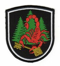 Army Tactical Morale Patch Secret Protection Red Scorpio Scorpion