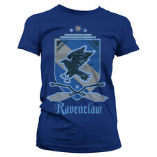 Official Licensed Harry Potter - Ravenclaw Ladies Women Fitted T-Shirt S-XXL