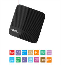 M8S PRO L Android7.1 S-912 Octa Core 3+32/16GB Con Controllo Vocale Smart TV BOX