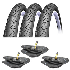 12 1/2 x 1.75 x 2 1/4 Pram Tyres & Free Tubes To Fit Phil & Teds (Set of 3) V41