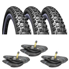 12 1/2 x 1.75 x 2 1/4 Pram Tyres & Free Tubes To Fit Phil & Teds (Set of 3) V92