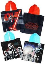 Boys Star Wars Kylo Ren Hooded Poncho Beach Bath Towel One Size 5 to 12 Years