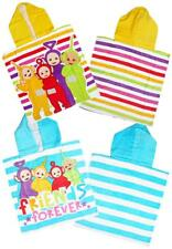 infantil TELETUBBIES Friends Forever Toalla Poncho Con Capucha Talla Única 5-12