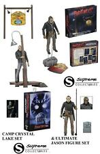 Neca Jason Voorhees Friday the 13th Camp Crystal Lake & Ultimate Figure 6 Set