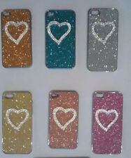 Bling Heart Sparkling Case Cover for iPhone 4 4S, iPhone 5 5S