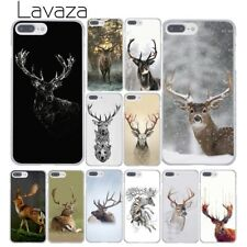 Deer Printed hard skin case cover For iPhone XS Max XR 6S Plus 6 5S 5 4S 4 8 7 X