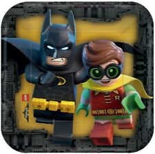 Lego Batman Kids Birthday Party Plates,Cups,Napkins,Party Bags,Balloons,Banners