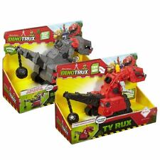 New Dinotrux Talking Ty Rux Or Battle Armor Ty Rux Chomps & Phrases Official
