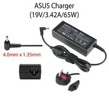 New AC Adapter Replacement Charger for ASUS Laptops 19V, 3.42A, 65W Various Pins
