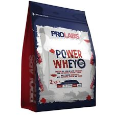 Prolabs Power Whey 2 kg Proteine Siero del Latte concentrate ed Isolate + Vit B6