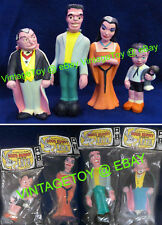 1964 MUNSTERS Rubber Dolls ALL 4 SEALED Mint in Pack!