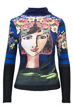 DESIGUAL T-SHIRT MANICA LUNGA DONNA TS CALIOPE 18WWTK71