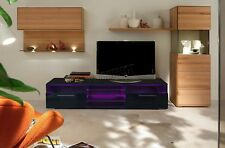 SPARE REPAIR FoxHunter Modern High Gloss Matt TV Cabinet Unit Stand Black RGB LE