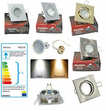 sets- LED de Potencia Lámparas Empotradas Louis 230v Downlights SMD Foco 3w =