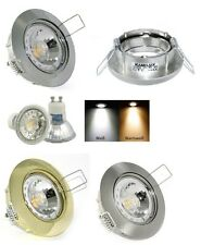 PLAFONIERA LISA 230V High Power Led 5 W=50 W LAMPADA GU10