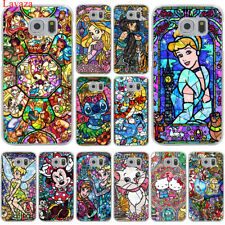For Galaxy Samsung S8 S9 Plus S7 S6 Edge skin Case Cover colorful Hard Cartoon
