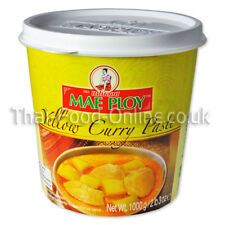 Authentic Imported Thai Yellow / gari / karee Curry Paste by Mae Ploy UK Seller