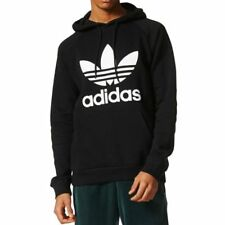 Adidas Original Men's Black Trefoil Hoody (BR4852)