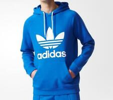 Adidas Original Men's Blue Trefoil Hoody (BR4189)