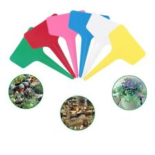 Plastic Plant T-type Tags Markers Nursery Garden Labels