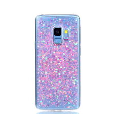 Glitter Sparkle Liquid Floating TPU Case Cover For Samsung Galaxy A8/S9 Plus