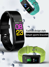 Smart Wristband Watch Heart Rate Monitor Blood Pressure Fitness Tracker SPE