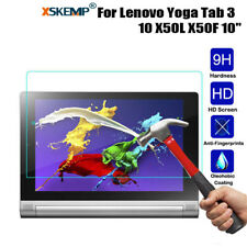 Genuine Tempered Glass 9H Screen Protector Cover For Lenovo IdeaTab/ Yoga Tablet