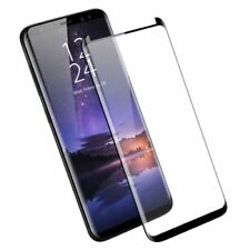 Full Cover Tempered Glass Screen Protector For Samsung Galaxy S8 [Case Friendly]