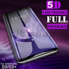 5D Full Cover Tempered Glass Screen Protector For Samsung Galaxy S8 S9 Note 8