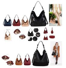 Ladies Women's Fashion New Style Trend Latest Design Hobo Bags With Metal Work