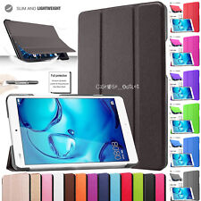 """Flip Smart Cover Folio Case Stand Tablet For Huawei MediaPad M3 Lite 10.1"""" 8.0''"""
