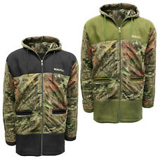 Mens Soft Fleece Panel Hunting Jacket Fishing RealTree Coat Hiking Shooting