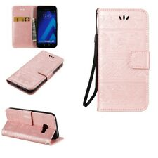 PU Leather Case Stand Wallet Flip Cover for Samsung Galaxy A3 A5 A7 2017 2016