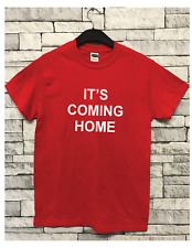 England Inspired It's COMING Home World Cup Russia 2018 Slogan T-shirt