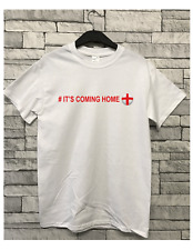 It's CUMING Home  World Cup Russia 2018 Slogan T-shirt England Inspired football