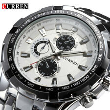 Brand Luxury Full Steel Watch Men Business Casual Quartz Military Gifts For Him