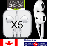 For iphone Headphones Earphones 3.5mm For Apple iPhone 4 5 6 SiPod iPad With Mic