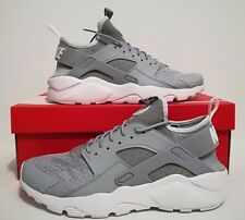 Nike Air Huarache Ultra Wolf Grey Men's Trainers Size 9 UK 819685 007