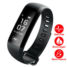 Smart Watch Wrist Band Fitness Tracker Bracelet Heart Rate Watch For iOS Android