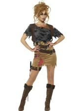 Deluxe Zombie Huntress Women's Fancy Dress Costume