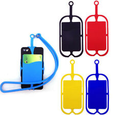 Mobile Cell Phone Lanyards Neck Hand Strap Necklace Sling Card Holder Case 807A