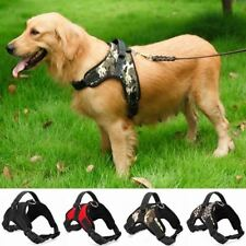 Dog Harness Vest For Small Medium Large XL Dogs Padded Nylon Heavy Duty Collars