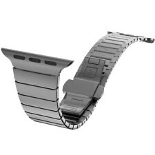 Top quality Strap 38mm 42mm for Apple iWatch Link Loop Band stainless steel Gold