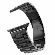 Stainless Steel Strap Band for Apple Watch Sport Edition Black 38mm 42mm iWatch