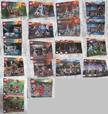 Lego Lord of the Rings / Hobbit  BA Bauanleitung Instruction only - wählen !