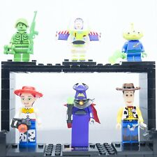 LEGO MINIFIGURES TOY STORY SET 6 PERSONAGGI BUZZ LIGHTYEAR WOODY CUSTOM LIKE